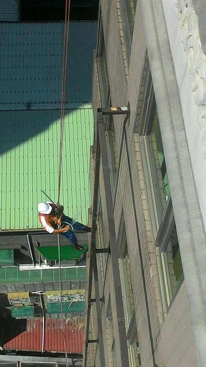 馥華飯店外牆清洗